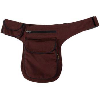 Kunst und Magie Double fanny pack Sidebag belt pouch pocket Festival Hippie Goa – Bild 18
