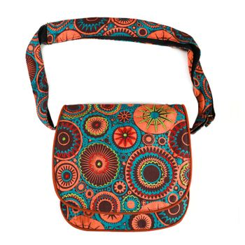 Patchwork Ethno Shoulder Bag Hippie Baba Bag – Bild 4