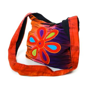 Colorful Shoulder Bag with Patterns – Bild 2