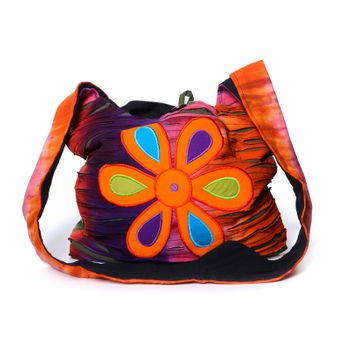 Colorful Shoulder Bag with Patterns – Bild 6
