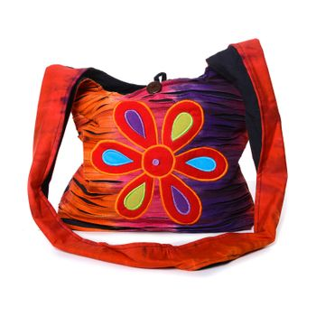 Colorful Shoulder Bag with Patterns – Bild 1