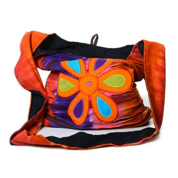 Colorful Shoulder Bag with Patterns – Bild 4