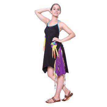 Kunst und Magie Naughty Minikleid Longshirt Tunic Hippie Boho carrier dress – Bild 1