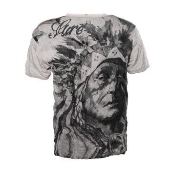 """Kunst und Magie Sure Buntes 70er Retro T-Shirt mit"""" Indianer Motiv"""" im Crinkle Look – Bild 5"""