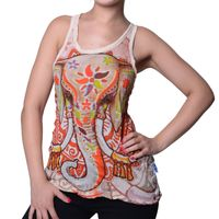 70s Retro Sure Strap Top Buddha Tears 001