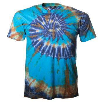 "Kunst und Magie Sure Men Colorful 70s Retro Hippie T-Shirt ""OM"" batik – Bild 4"