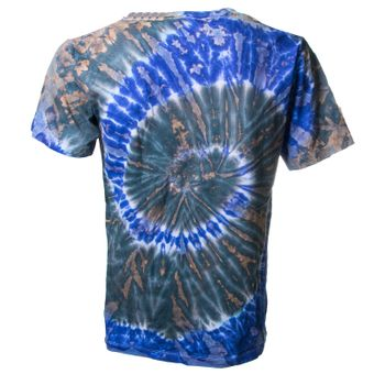 "Kunst und Magie Sure Men Colorful 70s Retro Hippie T-Shirt ""OM"" batik – Bild 2"