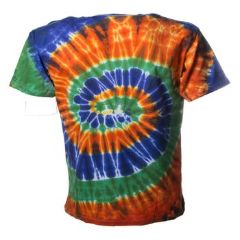 "Kunst und Magie Sure Men Colorful 70s Retro Hippie T-Shirt ""OM"" batik – Bild 8"