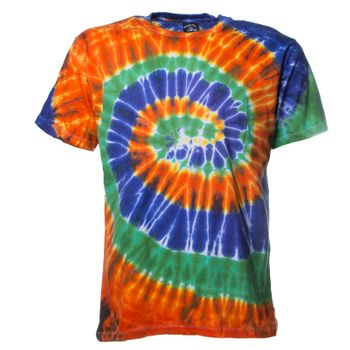 "Kunst und Magie Sure Men Colorful 70s Retro Hippie T-Shirt ""OM"" batik – Bild 7"
