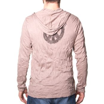Kunst und Magie Sure Hoody Kapuzen Shirt Peace mit Friedenstaube – Bild 2