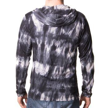 "Kunst und Magie Sure Hoody Kapuzen Tie Dye Batik Shirt mit ""Peace"" Motiv – Bild 2"