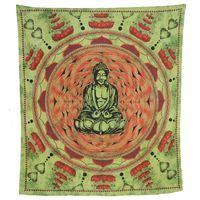 Wall hanging Lotus Buddha  90.5 x 82.5 inches   001