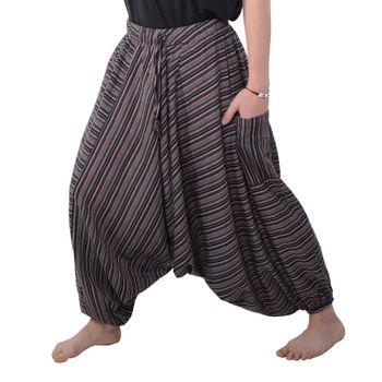 Oriental harem trousers Pumpants Aladinpants Colored stripes – Bild 1