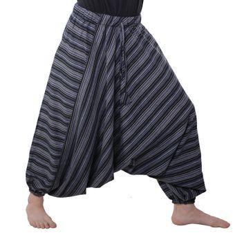 Oriental harem trousers Pumpants Aladinpants Colored stripes – Bild 12
