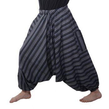 Oriental harem trousers Pumpants Aladinpants Colored stripes – Bild 11