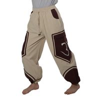 OM Unisex Psy Baggy Pants Hippie Pants Goa Cotton Dance Pants 001
