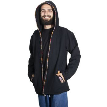 Unisex Cotton Jacket with fleece lining un hood form Kunst und Magie  – Bild 19