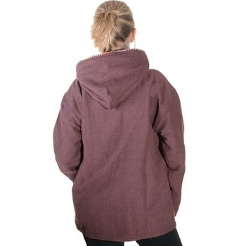 Unisex Cotton Jacket with fleece lining un hood form Kunst und Magie  – Bild 11