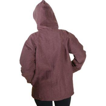 Unisex Cotton Jacket with fleece lining un hood form Kunst und Magie  – Bild 8