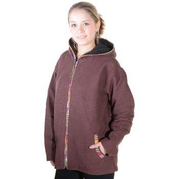 Unisex Cotton Jacket with fleece lining un hood form Kunst und Magie  – Bild 3