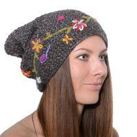 """Fancy Women's Hat """"Fall"""" made from Fleece 001"""