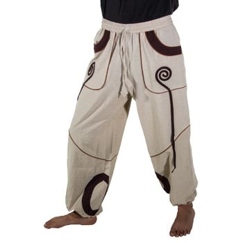 OM Unisex Psy Baggy Pants Hippie Pants Goa Cotton Dance Pants – Bild 8