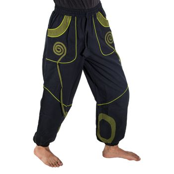 OM Unisex Psy Baggy Pants Hippie Pants Goa Cotton Dance Pants – Bild 15