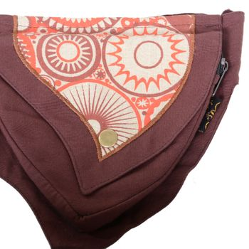 Practical Goa Shoulder Bag / Fanny Pack / Belt pouch Hippie Festival – Bild 17