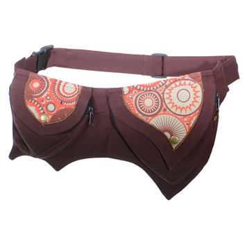 Practical Goa Shoulder Bag / Fanny Pack / Belt pouch Hippie Festival – Bild 4
