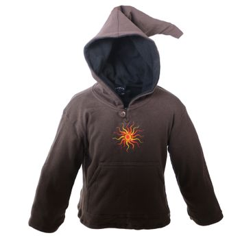 Funny Gnome Jacket with Hood  and with Sunshine   – Bild 1