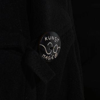 Kunst und Magie Women Fleece Hooded  Boho Frock Coat – Bild 5