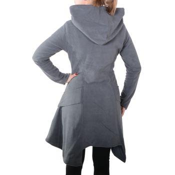 Kunst und Magie Women Fleece Hooded  Boho Frock Coat – Bild 8