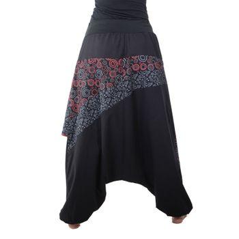 Colorful Ibiza Style Harem Pants Cotton Pants - Goa Wellness Pants – Bild 13