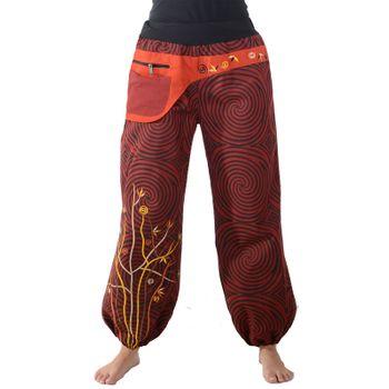 Colorful Hippie Cotton Pants - Ibiza Beach Wellness Pants – Bild 5