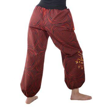 Colorful Hippie Cotton Pants - Ibiza Beach Wellness Pants – Bild 7