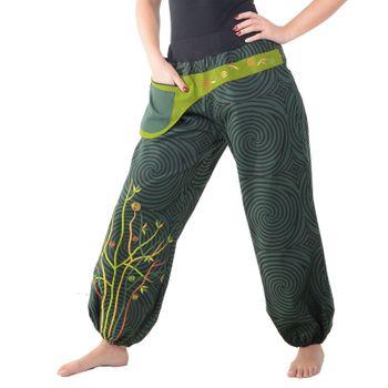 Colorful Hippie Cotton Pants - Ibiza Beach Wellness Pants – Bild 3
