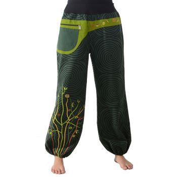 Colorful Hippie Cotton Pants - Ibiza Beach Wellness Pants – Bild 1