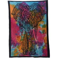 Wall curtain with Elephant 001