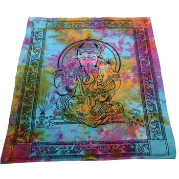 Kunst und Magie Wall curtain with Ganesha