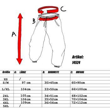 Kunst und Magie Unisex pants with Goa semicircle – Bild 5