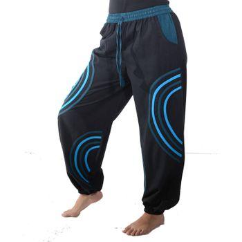 Kunst und Magie Unisex pants with Goa semicircle – Bild 7