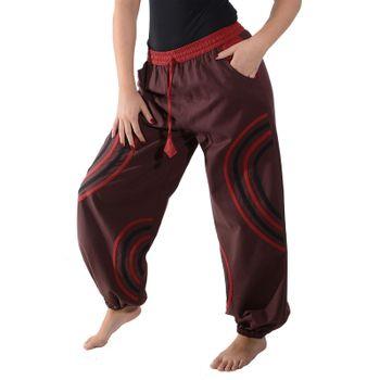 Kunst und Magie Unisex pants with Goa semicircle – Bild 14
