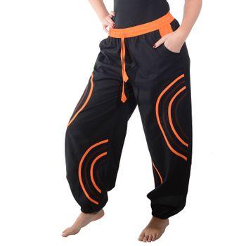 Kunst und Magie Unisex pants with Goa semicircle – Bild 2