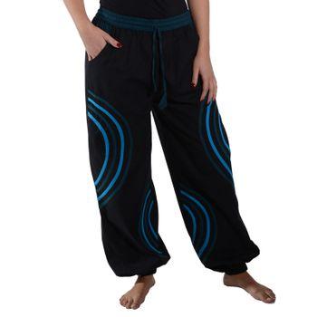 Kunst und Magie Unisex pants with Goa semicircle – Bild 6