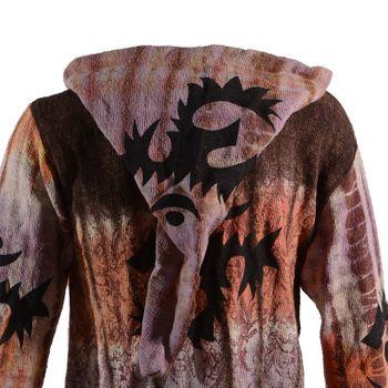 Ethno Hippie Men's Knit Jacket – Bild 4