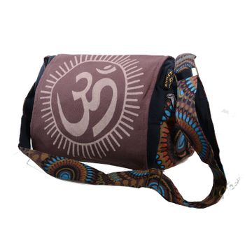 Kunst und Magie OM Hippie handbag Goa bag with shoulder strap – Bild 2