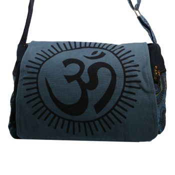 Kunst und Magie OM Hippie handbag Goa bag with shoulder strap – Bild 7
