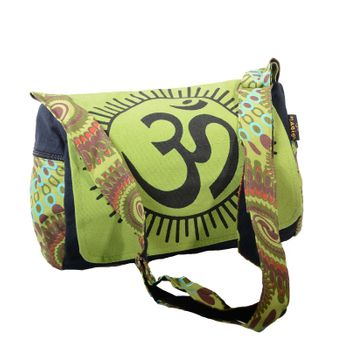 Kunst und Magie OM Hippie handbag Goa bag with shoulder strap – Bild 13