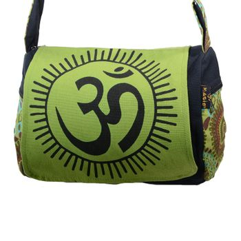 Kunst und Magie OM Hippie handbag Goa bag with shoulder strap – Bild 12
