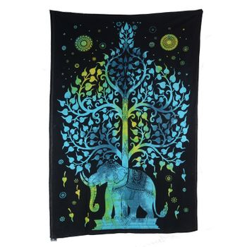 "Kunst und Magie Wall hanging ""Tree of LIfe""  100 % cotton approx. 78.5 x 53 inch – Bild 1"
